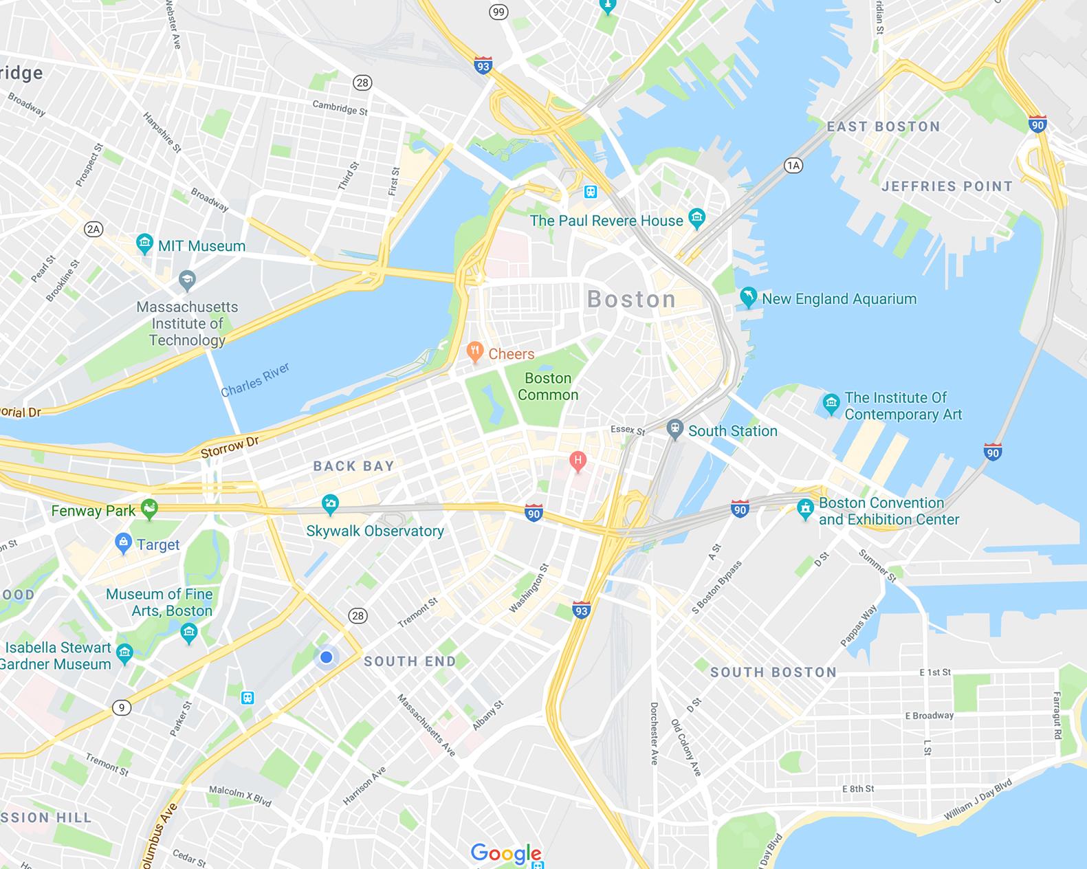 South End Tour Maps
